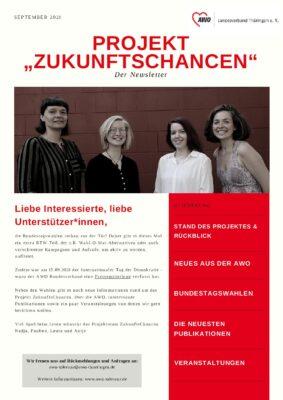 03-2021 Newsletter Projekt ZukunftsChancen AWO Thüringen