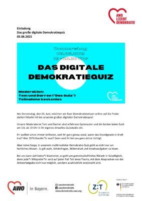 Einladung_Das digitale Demokratiequiz